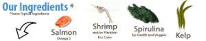 YFS Brine Shrimp Flakes Ingredients