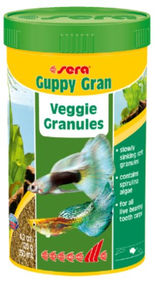 sera Guppy Gran 250ml in stock